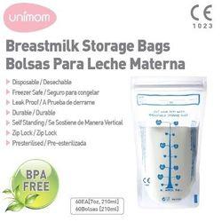 Túi trữ sữa unimom 210ml hộp 10 túi_043
