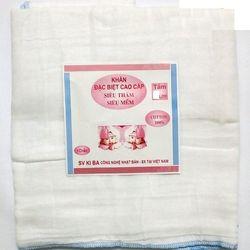 Khăn tắm xô trắng kiba 4 lớp kt 70*70_020