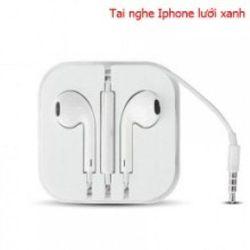 Tai nghe iphone lưới xanh logo táo - giá sỉ giá tốt giá sỉ