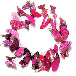 Set 12 bướm trang trí có nam châm - giá sỉ_ giá tốt
