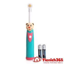 Bàn chải đánh răng tự động hình thú cho bé giá sỉ