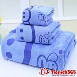 Bộ sét 3 khăn mềm mịn cho mẹ và bé giá sỉ