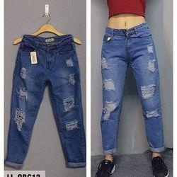 quần baggy nữ model