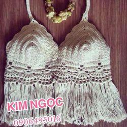 Bikini - croptop handmade