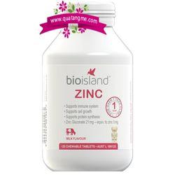 Bổ sung kẽm bio island zinc cho trẻ giá sỉ