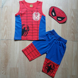 Bộ nhện dành cho bé trai giá sỉ, giá bán buôn