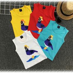 hàng có sẵn áo thun 3 lổ cực hot cho bé yêu chất thun cotton mềm mát hình in ép bao đẹp nhí sz1-8 ms000040 đại sz9-14 ms000047 có 4 màu như hình chốt 2 ngày giao giá sỉ