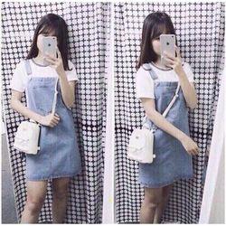 yếm váy jean size s, m, l - a28659 100.000₫