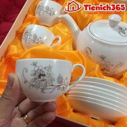 Bộ ấm chén trà ceramics korea giá sỉ