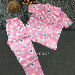 Pijama họa tiết gấu quần dài giá sỉ