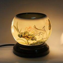 Đèn xông tinh dầu vỏ gốm sứ