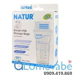 Túi trữ sữa natur 30pcs thái lan