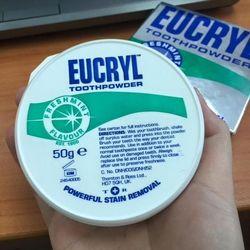 Bột làm trắng răng eucryl, anh