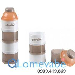 Hộp chia sữa 4 tầng (cam) bm01118