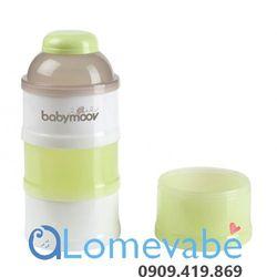 Hộp chia sữa 4 tầng (xanh) bm00923