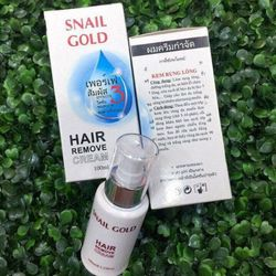 Kem tẩy lông snail gold hair remove cream