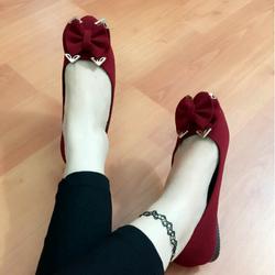 Giày búp bê mys nơ xinh