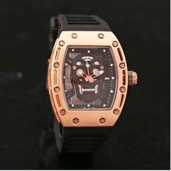 Đồng hồ thạch anh thời trang silicone dh1023 giá sỉ