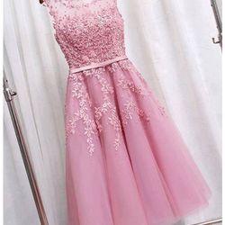 Đầm xoè công chúa sát nách phối ren - a25614