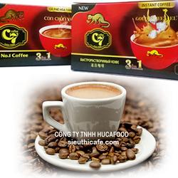 Cà phê hòa tan 3in1 c7 hộp đỏ 18 gói