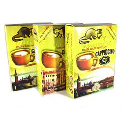 Cà phê cappuccino c7 16gói/hộp vàng