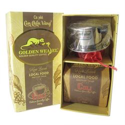 Hộp kopi luwak – culi nguyên chất cà phê chồn vàng