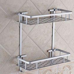 Giá để đồ nhà tắm 2 tầng nhôm nx6268