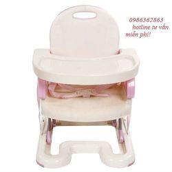 Ghế ăn điều chỉnh độ cao mastela 07112 màu hồng