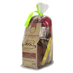 Coffee bột nguyên chất robusta hương chồn – 100gr 5 gói
