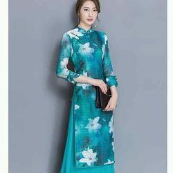 Đầm áo dài hót hót  hàng nhập hồng kông