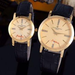 Đồng hồ cặp inox saphire giá sỉ