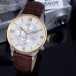 Đồng hồ tisot inox saphire 6 kim hoạt động giá sỉ