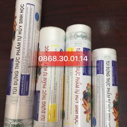Túi đựng thực phẩm tự huỷ sinh học 15x25x100 chiếc/ cuộn giá sỉ