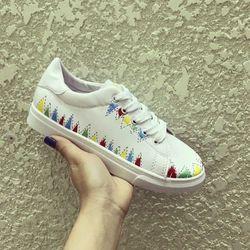 Hàng cao cấp loại i - giày sneaker nữ xinh