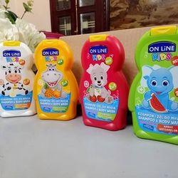 Sữa tắm gội cho bé on line kids