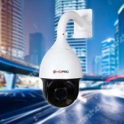 Camera ip quay quét tự động - góc rộng cho sân bãi nhà xưởng