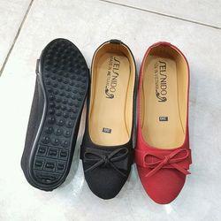 Giày búp bê nữ ý phương - si nhám 27k