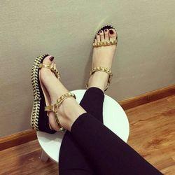 Hàng cao cấp loại i - giày đế xuồng nữ xinh