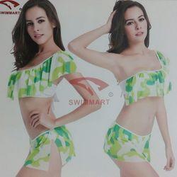Bikini 2 mảnh nhún bèo 1 tầng