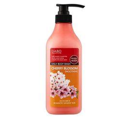 Sữa tắm mềm mịn da bổ xung khoáng chất dabo tinh chất hoa anh đào
