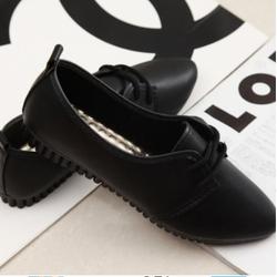 loại i giày oxford nữ mũi nhọn dây buộc - b108