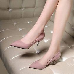 Giày cao gót cách điệu 5cm giá sỉ