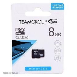 Thẻ nhớ Team micro SDHC 8GB - CLass4 giá sỉ