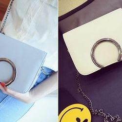 Túi nữ đeo chéo khóa tròn lớn cực đẹp mã sp: 15175