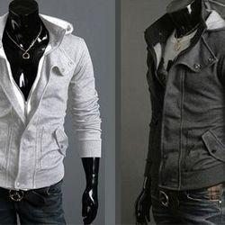 Áo khoác nam vải nỉ dây kéo nút bấm ms: 15728