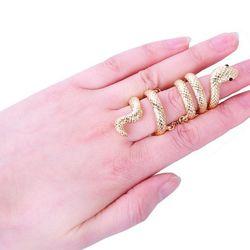 Nhẫn nữ rắn thời trang vân đẹp ab378