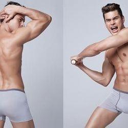 Combo 2 quần lót nam viền màu dạng đùi ms15601 giá sỉ