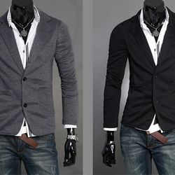 Áo khoác thun nam giả vest thời trang ms15348