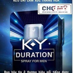 Sản phẩm xịt kéo dài thời gian quan hệ k-y duration™ spray for men