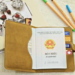 Vỏ passport có nút bấm giá sỉ